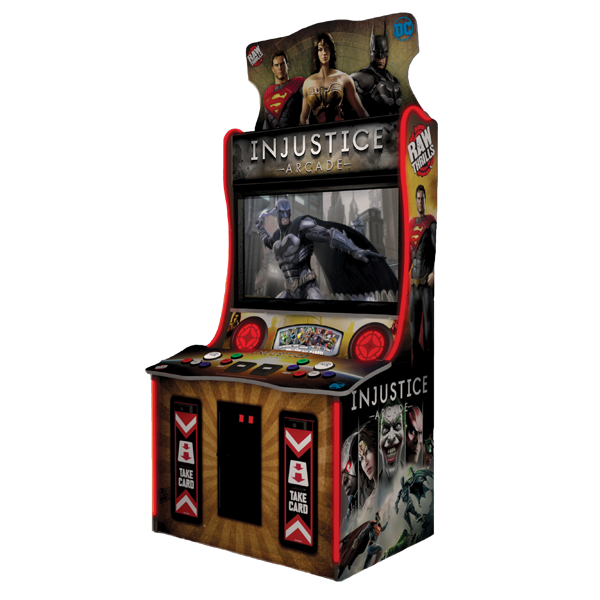 "Injustice 43"" Arcade by Raw Thrills"