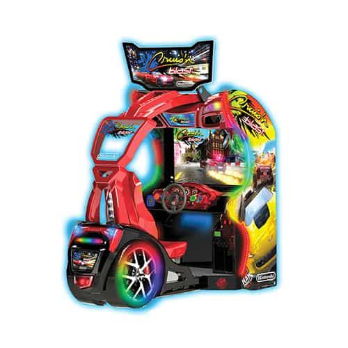 Cruis'n Blast video amusement game
