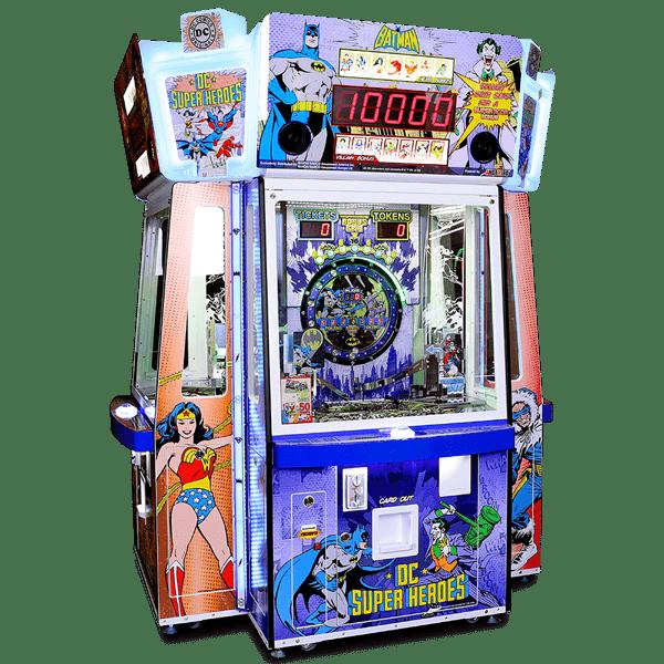 DC Superheroes Coin-Pusher - Betson Enterprises