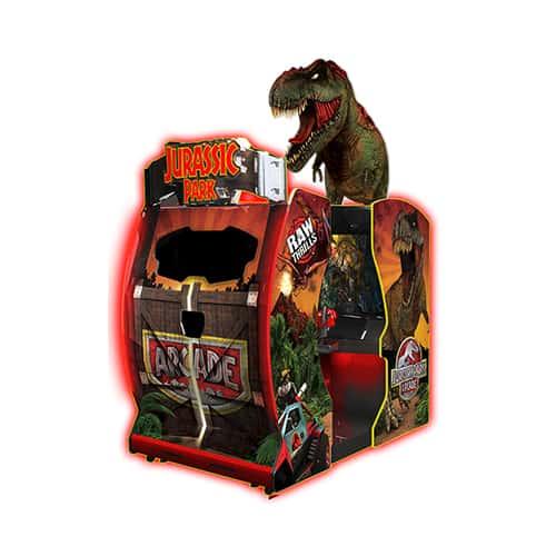 Jurassic Park Arcade video amusement game