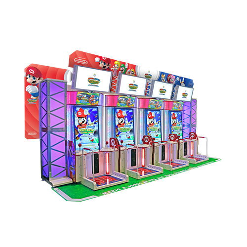 "Mario & Sonicat Rio 55"" 2 player DLX video amusement game"