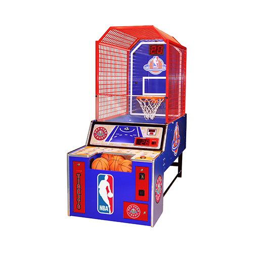 NBA Hoop Troop Arcade Game productfront end angled picture