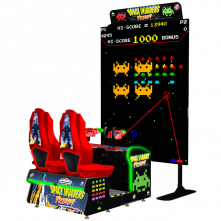 Space Invaders Frenzy by Raw Thrills