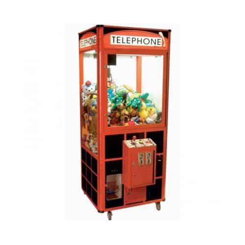 Telephone Crane merchandiser-crane amusement game picture