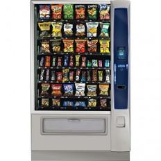 Crane Merchant Media Model 186 Vending Machine Innovative Automated Retail Design Cashleses Nutritional Data
