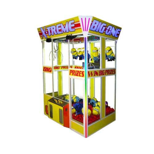 X-Treme Big One merchandiser-crane amusement game picture