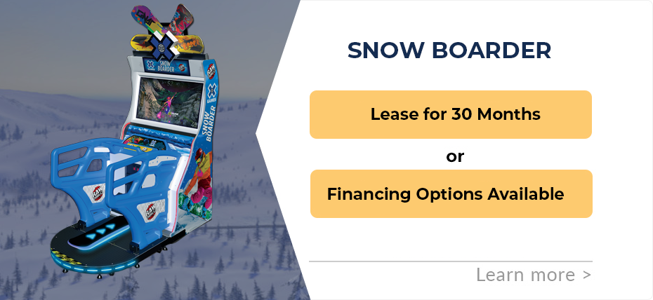 Snow Boarder Leasing & Financing Specials