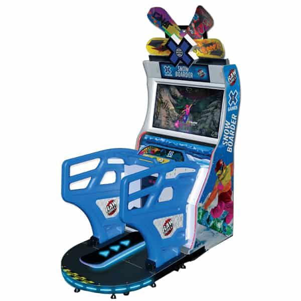X Game Snowboarder Arcade Game