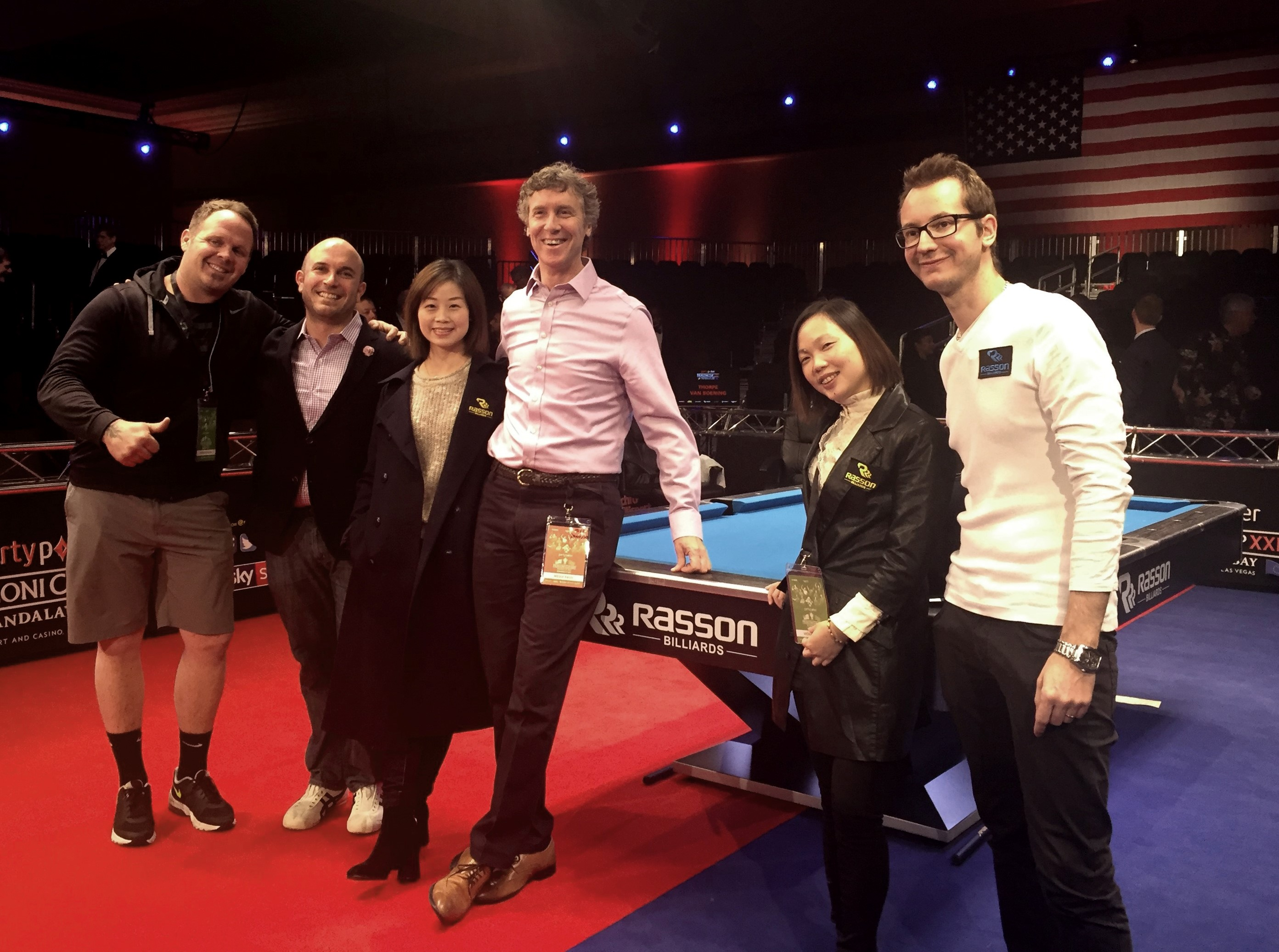 Imperial Attends The Mosconi Cup Betson Enterprises - Mosconi pool table