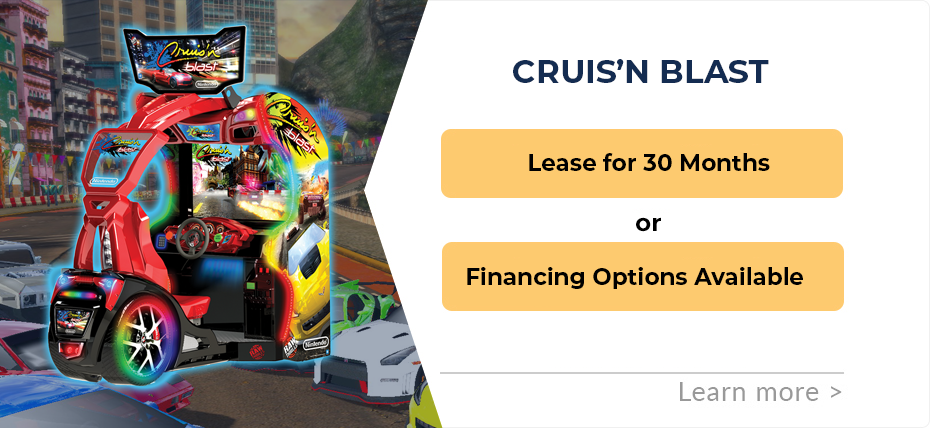 Cruis'n Blast Financing and Leasing Specials