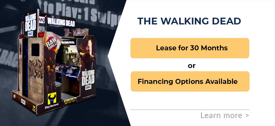 The Walking Dead Arcade Financing and Leasing Specials