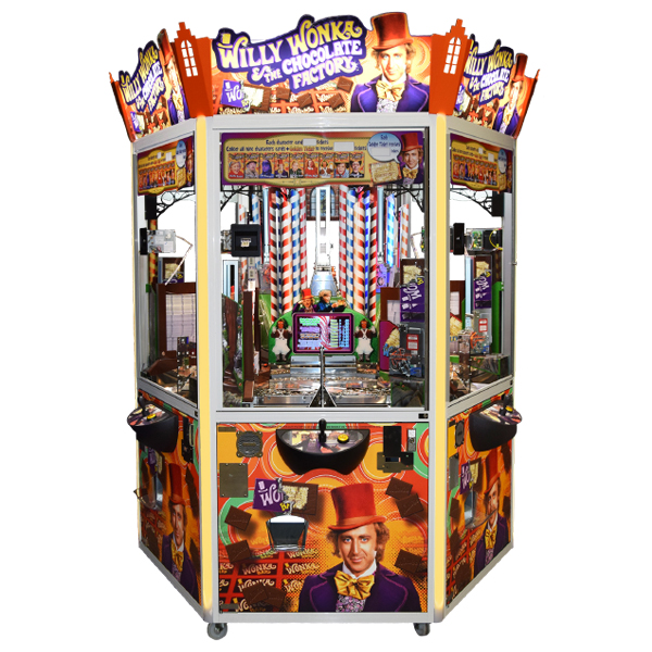 Image result for willy wonka and the chocolate factory arcade game