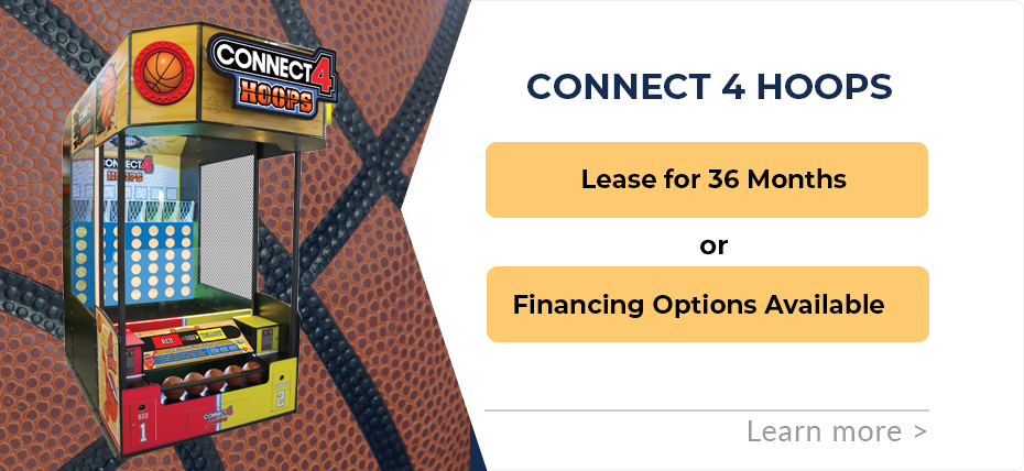 Connect 4 Hoops Financing & Leasing Specials