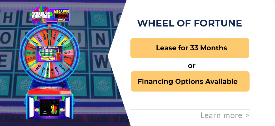 Wheel of Fortune Leasing or Financing Special 2019