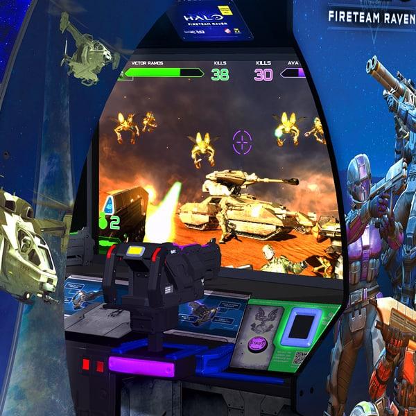 Halo: Fireteam Raven 2 Player - Arcade - Betson Enterprises