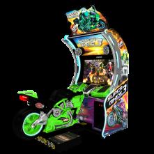 Super Bikes 3 Green Bike Raw Thrills - Betson Enterprises