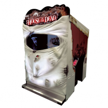 House of the Dead Scarlet Dawn Cabinet SEGA