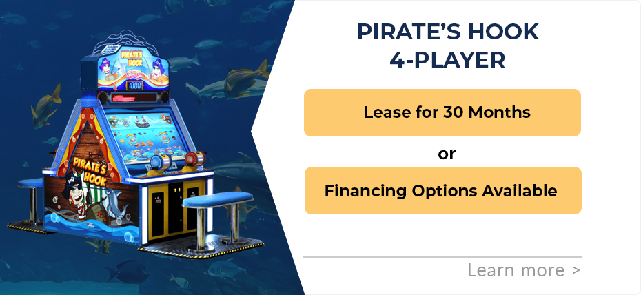 Pirate's Hook 4-Player Finance and Leasing Specials