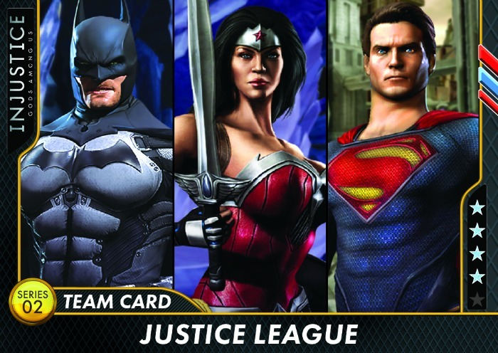 Justice League Injustice Arcade Series 2 Cards Raw Thrills