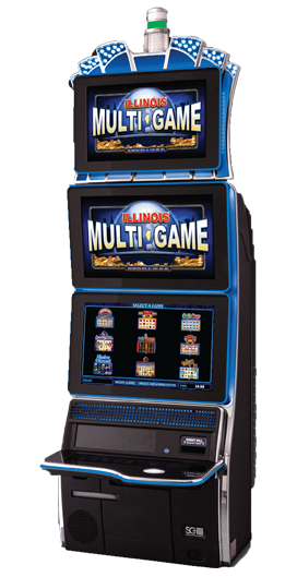 Illinois Multigame Twinstar Gaming Cabinet