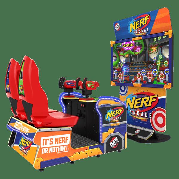 Nerf Arcade - New Cabinet - Raw Thrills - Betson