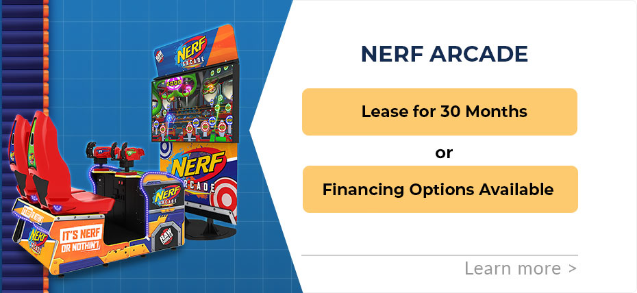 Nerf Arcade Leasing and Finance Specials