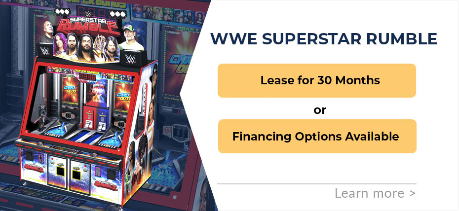 WWE SuperStar Rumble Leasing & Finance Specials - Good Until May 30, 2019