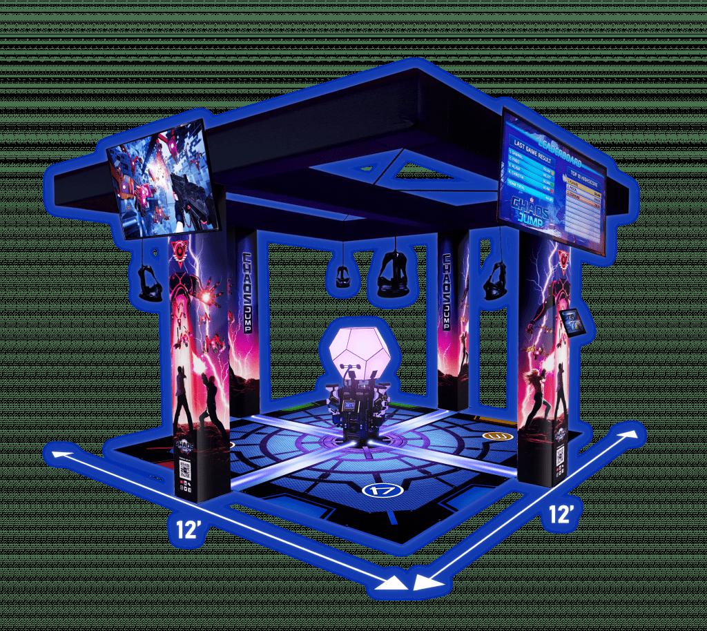 Chaos Jump VR Hero Image