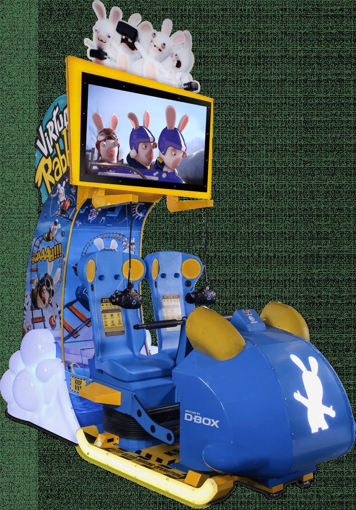 Virtual Rabbids The Big Ride Cabinet LAI Games Betson