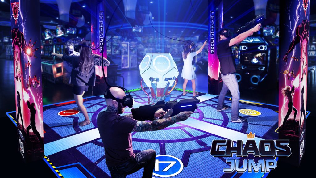 Attractions : Chaos Jump VR Promo Image