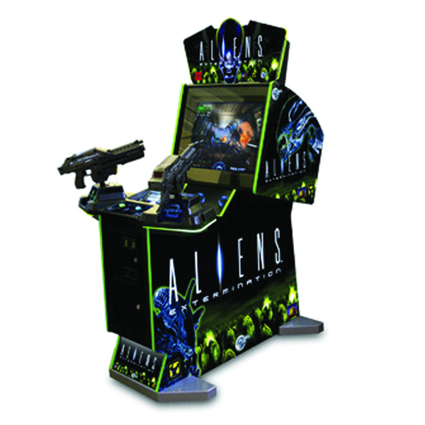 Aliens Extermination by Global VR Used Arcade Game