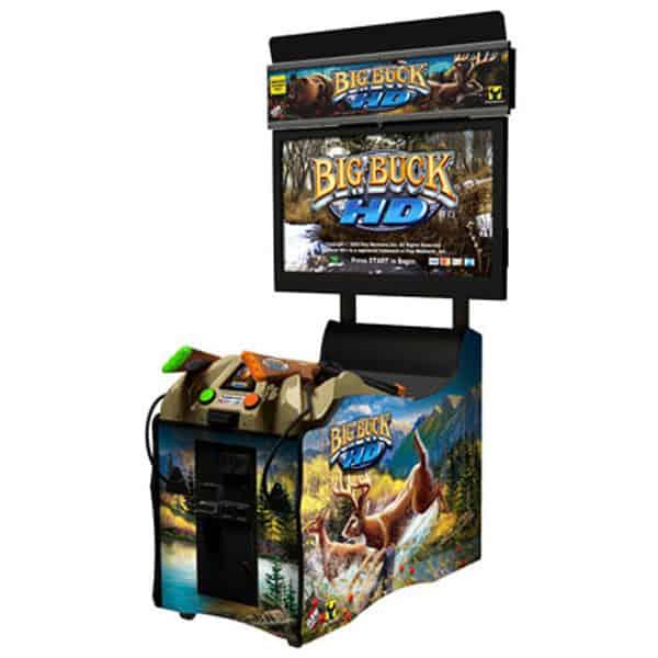 "Big Buck HD Panorama w/ 42"" Monitor USED Raw Thrills Play Mechanix"
