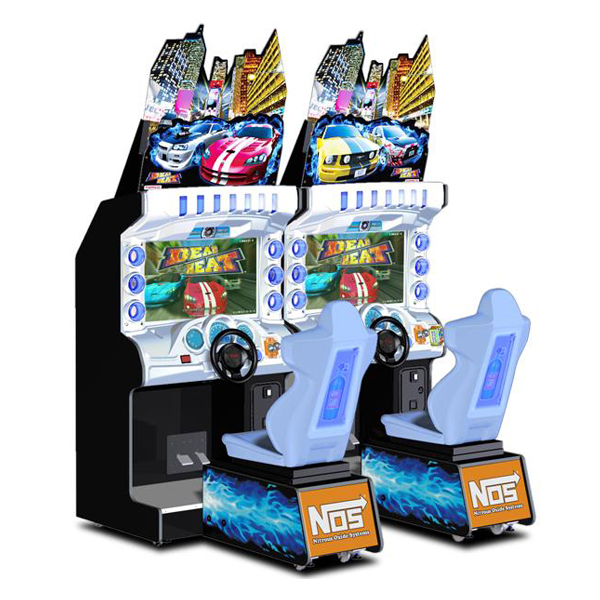 """Dead Heat 42"""" Deluxe Used Arcade Namco"""