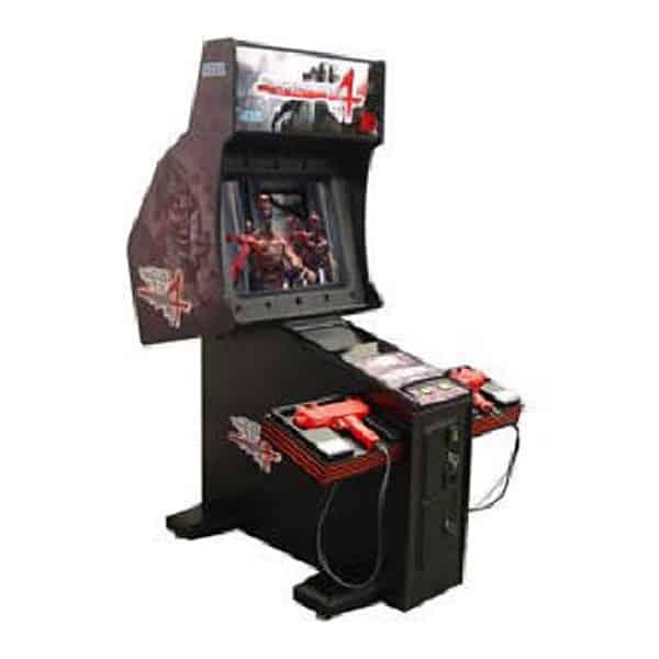 """House of the Dead 4 52"""" Used Arcade Sega"""