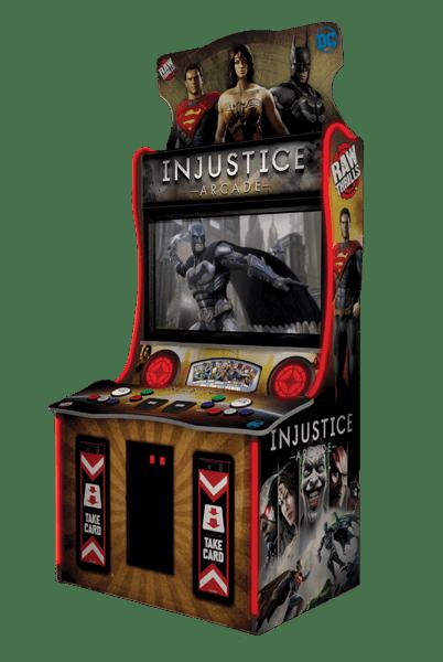 Injustice Arcade DC Comics Operators