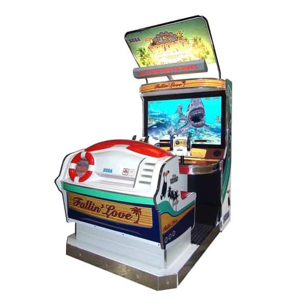 Let's Go Island Non-Motion Used Game Sega