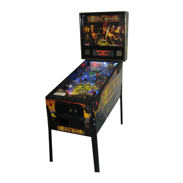 Pirates of the Caribbean Used Stern Pinball