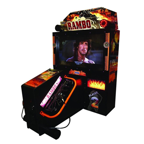 Rambo Deluxe Used Arcade Sega