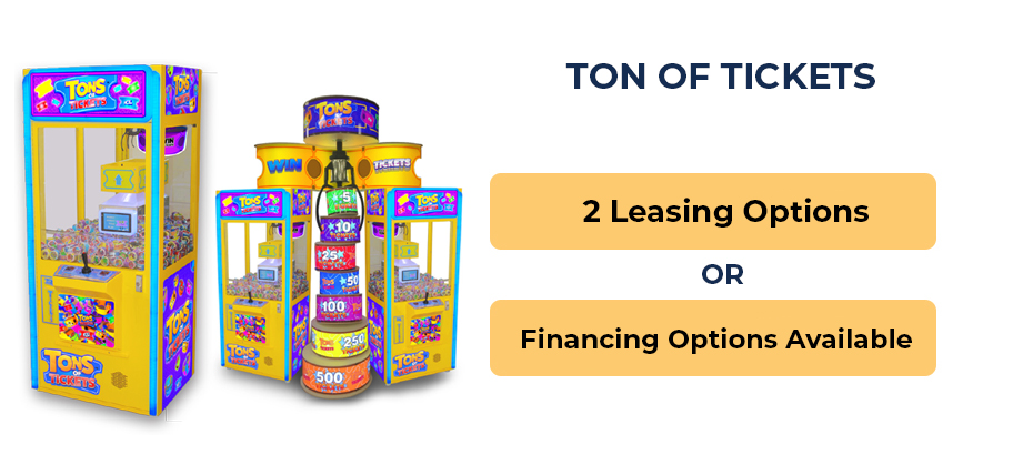 Tons of Tickets Financing and Leasing Options