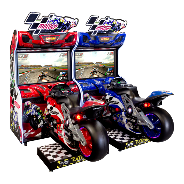 MotoGP Dual Cabinets by Raw Thrills
