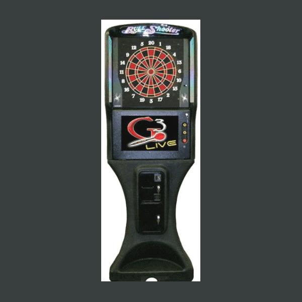Galaxy 3 Live Darts by Arachnid Used Arcade
