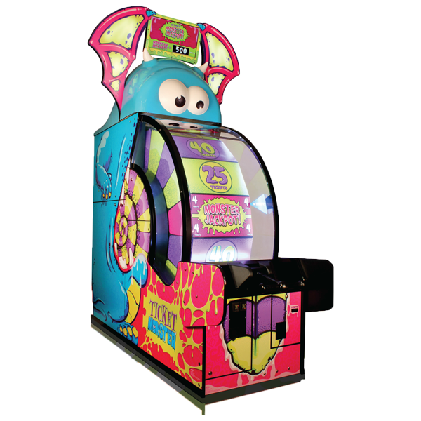 Ticket Monster Redemption by Bay Tek Entertainment - Water Parks