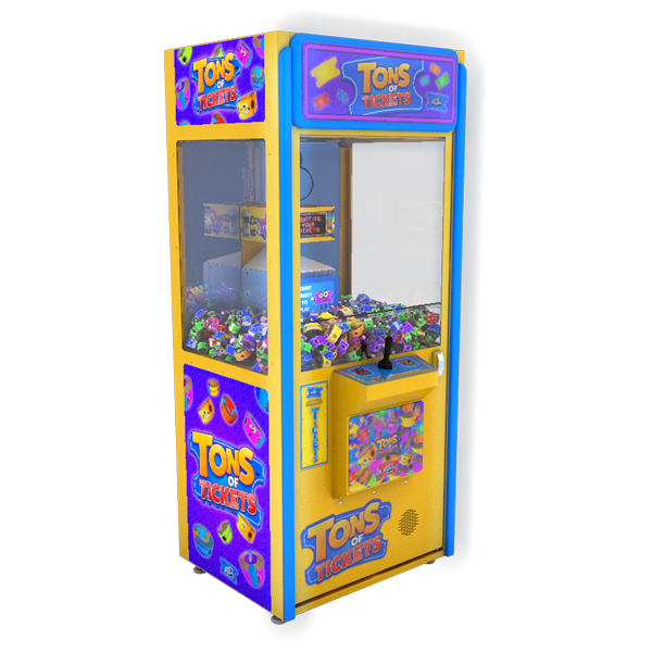 Tons of Tickets Single Cabinet