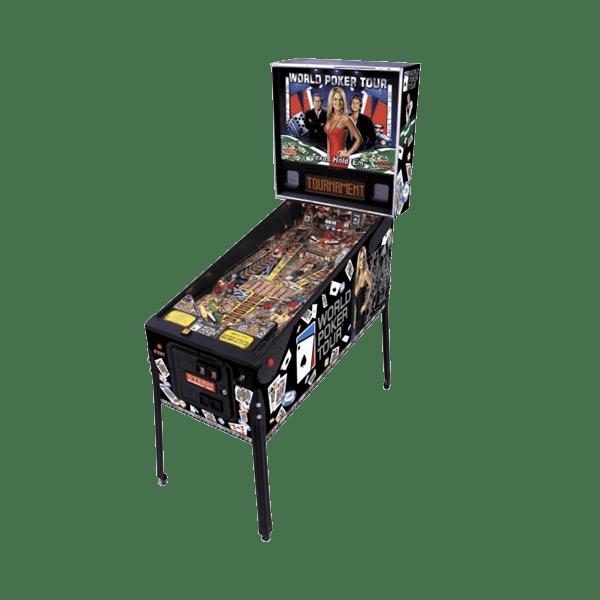 World Poker Tour by Stern Pinball USED