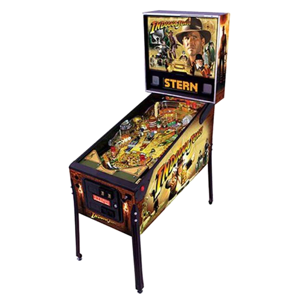 Indiana Jones Pinball Used by Stern