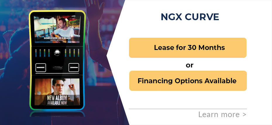 NGX Curve Jukebox Leasing & Financing Special