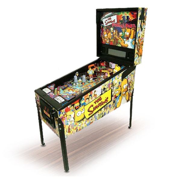The Simpsons Pinball Party Used by Stern